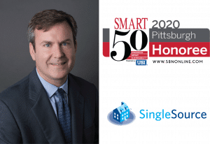 SingleSource CEO Brian Cullen - Smart 50 Business Award Honoree